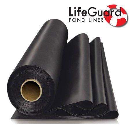 20 Mil Pvc Pond Liner - Anjon LifeGuard 8 ft. x 10 ft. 45 Mil EPDM Pond Liner