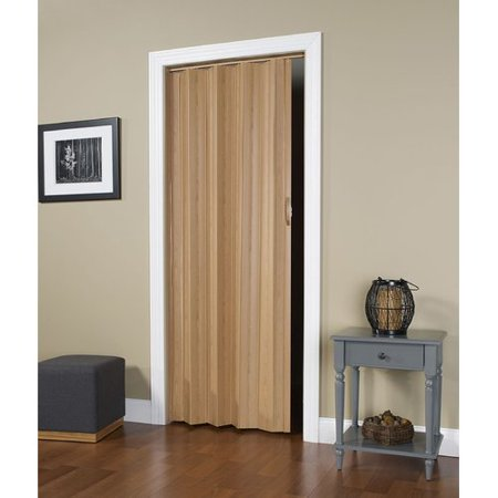 "HomeStyles Regent Vinyl Accordion Door, 36"" x 80"", Oak"