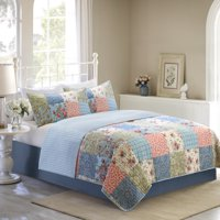 Mainstays Vintage Floral Patchwork Quilt Collection