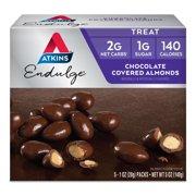 Atkins Endulge Chocolate Covered Almonds, 1oz, 5-pack (Treat)