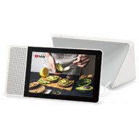 Lenovo 10.1-inch Smart Display (White and Bamboo) with Google Assistant