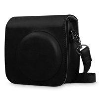 Fintie Protective Case for Fujifilm Instax Mini 8 Mini 8+ Mini 9 Instant Camera - Vegan Leather Bag Cover with Strap