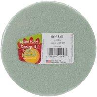 Design It Dry Foam Half Ball 5in Green