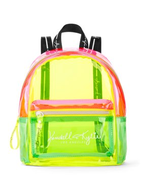 Kendall + Kylie for Walmart Neon Mix Mini Backpack