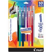 Pilot FriXion Ball Color Sticks Erasable Gel Pens 10/Pkg-Assorted Colors
