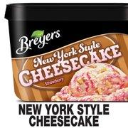 Breyers Frozen Dairy Dessert New York Style Cheesecake 48 oz
