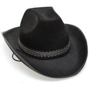 776206eeed2ca Black Felt Cowboy Hat. Price