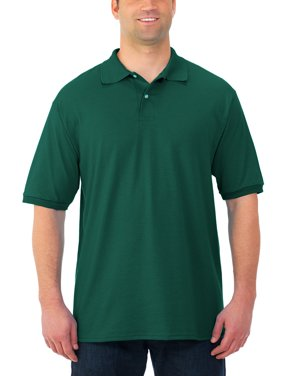 Men's SpotShield Short Sleeve Polo Sport Shirt, Available up to sizes 5XL