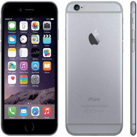 Seller Refurbished Apple iPhone 6 Plus 64GB Unlocked GSM iOS Smartphone Black Silver Gold (Space