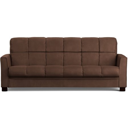 Mainstays Baja Futon Sofa Sleeper Bed Multiple Colors