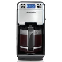 Hamilton Beach 12 Cup Digital Automatic LCD Programmable Coffeemaker Brewer