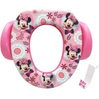 "Disney Minnie Mouse ""Simply Adorable"" Soft Potty Seat with Hook"
