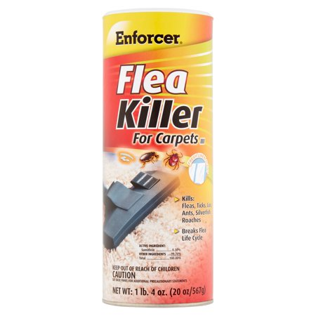 Enforcer Flea Killer for Carpets III, 20 oz