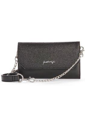 Kendall + Kylie for Walmart Black Glitter Belt Bag/Crossbody