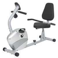 Best Choice Products Stationary Recumbent Exercise Bike Fitness Equipment w/ Magnetic Resistance and Pedals - Gray/Black