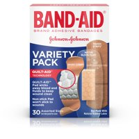 (2 pack) Band-Aid Brand Active Lifestyles Adhesive Bandage Variety Pack, 30 ct