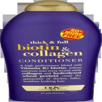 OGX Thick & Full Conditioner Biotin & Collagen, 19.5 FL OZ