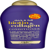 OGX Thick & Full Conditioner Biotin & Collagen, 19.5 FL OZ