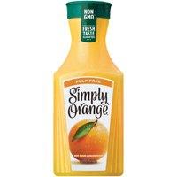 Simply Orange Pulp Free Orange Juice, 52 fl oz