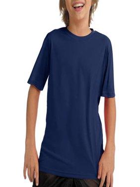 Boys' Short Sleeve CoolDri Performance Tee (50+ UPF Rating)