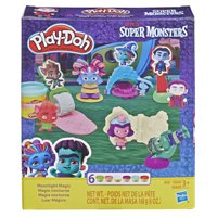 Play-Doh Netflix Super Monsters Moonlight Magic Set with 6 Cans of Dough