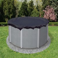 Blue Wave Bronze 8-Year 15-ft Round Above Ground Pool Winter Cover