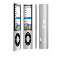Refurbished Apple iPod Nano 5th Genertion 16GB Silver, Like New with Brand New Battery!