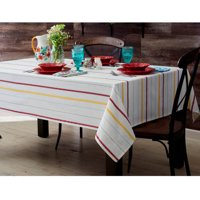 The Pioneer Woman Vintage Stripe Tablecloth, Available in Multiple Sizes