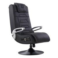 X Rocker 4.1 Pro Series Pedestal Wireless Video Gaming Chair, Black