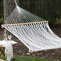 Coral Coast XL Thick Rope Double Hammock with FREE Hanging Hardware