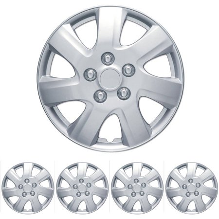 BDK Toyota Camry Style Hubcaps Wheel Cover, 16