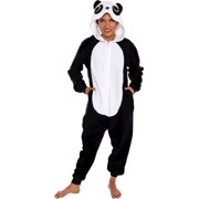 3a16c0f9d89e Silver Lilly Adult Slim Fit One Piece Cosplay Panda Animal Pajamas