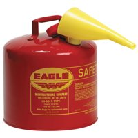 Eagle Mfg Type l Safety Cans, Diesel, 5 gal, Yellow