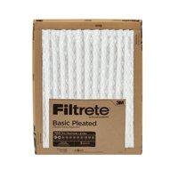 Filtrete 14X20x1, Filtrete Basic Pleated HVAC Furnace Air Filter, 100 MPR, 1 Filter