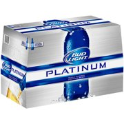 Bud Light Platinum Beer, 18 pack, 12 fl oz