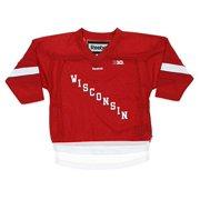Reebok NCAA Toddler Wisconsin Badgers Replica Hockey Jersey 0bf75c359
