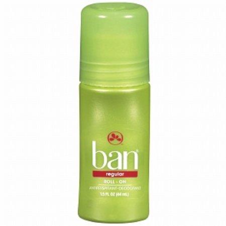 2 Pack - Ban Original Roll-On Antiperspirant and Deodorant, Regular 1.5 oz
