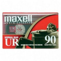 Maxell UR 90 Minute Cassette Audio Tape 7 Pack + Free Shipping