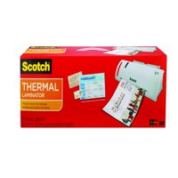 Scotch Thermal Laminator plus 2 Letter Size Pouches (TL902)