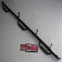 N-Fab Nerf Step 15-17 Chevy-GMC 2500/3500 Crew Cab 6.5ft Bed - Tex. Black - Bed Access - 3in