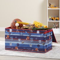Mainstays Kids Collapsible Soft Storage Toy Trunk