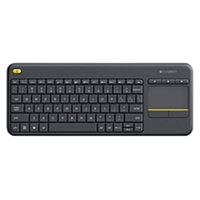 Logitech WIRELESS TOUCH KEYBOARD K400 PLUS HTPC keyboard for PC connected TVs