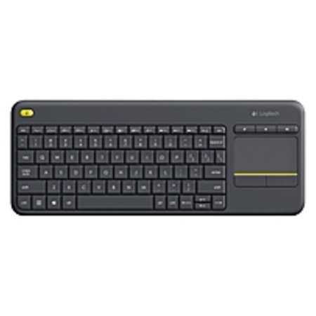 - Logitech WIRELESS TOUCH KEYBOARD K400 PLUS HTPC keyboard for PC connected TVs