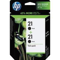 HP 21, (C9508FN) 2-pack Black Original Ink Cartridges