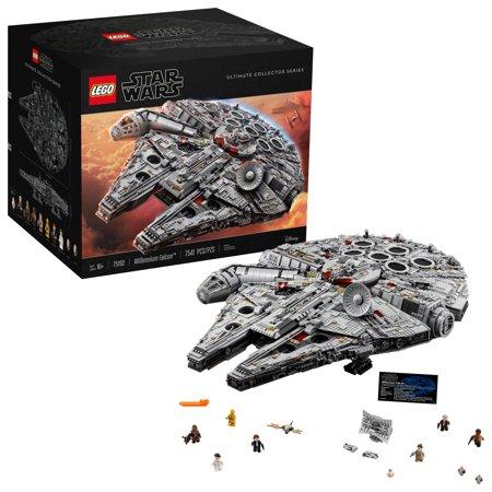 Lego Star Wars Millennium Falcon 75192 7 541 Pieces Walmart Com