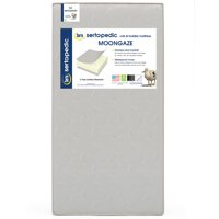 Serta Sertapedic Moongaze Crib and Toddler Mattress