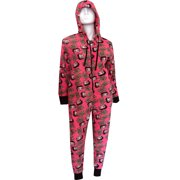 Betty Boop Hot Pink Plush Onesie Hooded Pajama 2e2ce068a