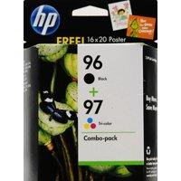 HP 96, (C9353FN) Black / HP 97, Tri-Color 2-pack Original Ink Cartridges