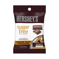 Hershey's Sugar-Free Caramel Filled Chocolates, 3 Oz.