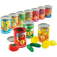 Learning Resources, LRNLER6800, 1-10 Counting Cans Set, 67 / Set